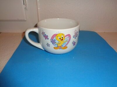 Looney Tunes Warner Bros. Tweety Bird Gibson Oversized Soup Coffee Mug