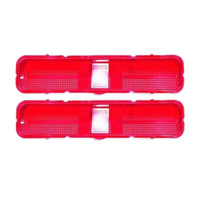 69 GTO / LeMans Tail Lamp / Light Lens - Pair