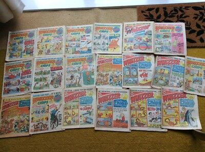 Whizzer and Chips Comics X 16 From 1978 To 1979
