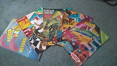 5 issues of Starlord in very good condition (2000AD/ STRONTIUM DOG/ RO-BUSTERS)