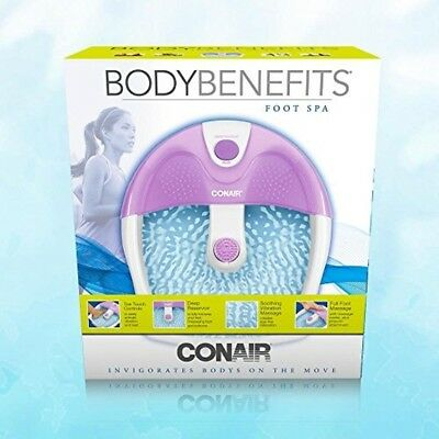 Foot Spa Bath Massager Heat Soaker Pedicure with Vibration Bubble Roller Relax