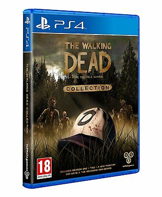 The Walking Dead The Telltale Series Collection PS4 UNCUT NEUWARE OVP