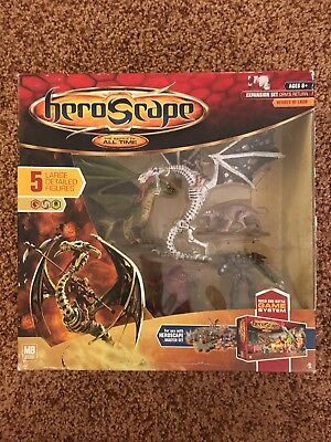 Heroscape Orm's Return Heroes of Laur Expansion Set 5 Large Figures In Box