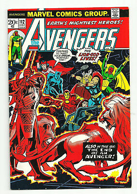 AVENGERS #112  VF  - First appearance of MANTIS