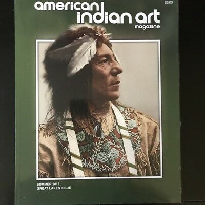 American Indian Art Magazine 2012, Summer –  Great Lakes, Odawa Quill Artists