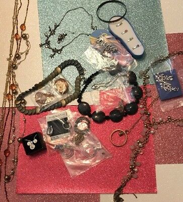 Vintage to Now Estate Jewelry Lot NEW, Sterling Silver & Fashion PCs #5 Of 30
