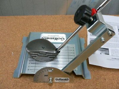 GolfSmith Loft & Lie Measuring Instruments Either right and left F/S w/Tracking#