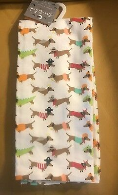 Set of Dachshund in Halloween Costume Kitchen/Hand Towels - Benefiting Rescue