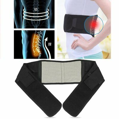 Lumbar Support Pain Massager Infrared Magnetic Heathly Therapy Waist Belt BSNJ