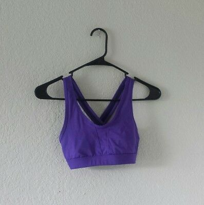 c11d9e0128aaf C9 Champion Duo Dry purple Sports Bra athletic fitness workout women s size  XS