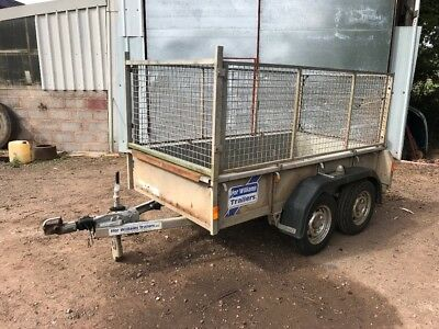 Ifor Williams 8x4 caged trailer