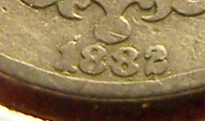 G/VG 1882 Shield Nickel with Possible Repunched Date (rpd)