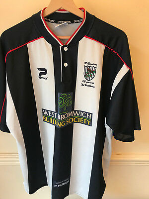 ff1e89bc492 Vintage West Bromwich Albion WBA Home Shirt - '100 years at The Hawthorns'