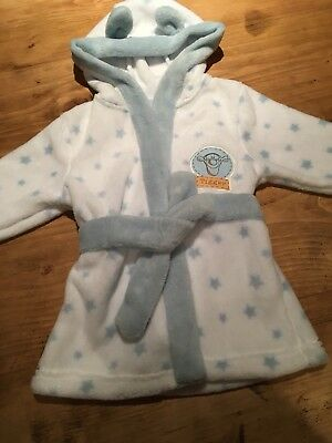 Baby Boys Disney Tigger Dressing Gown 6-9 Months. New Without Tags.
