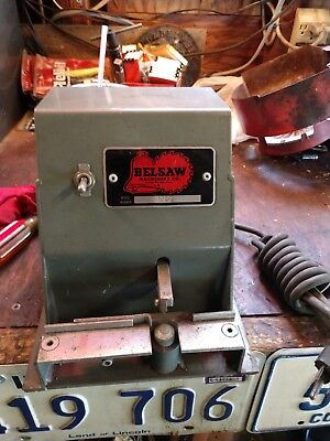 Vintage Bellsaw Machinery Co. Power Handsaw Setter