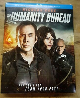 The Humanity Bureau Blu Ray Dvd 2 Disc Set + Slipcover Sleeve Free Shipping New