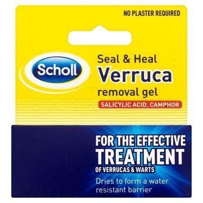 Scholl Seal and Heal Verruca and Wart Removal Gel 10ml  1, 2 or 3 Pack Available