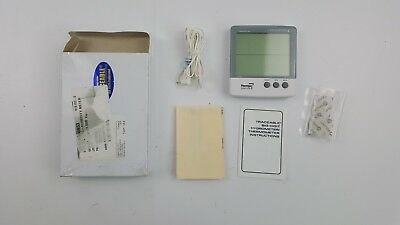 """Thomas 4184 ABS Plastic Traceable Jumbo Thermo-Hygrometer, 1-1/8"""" High Display"""