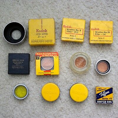 Kodak, Tiffen Series V Filters and Adapters