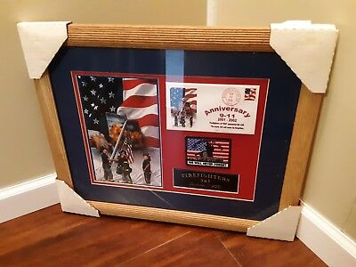 "American Heroes Series #1 of 6 ""Firefighters"" 9-11 Firefighters 343 Wall Tribute"