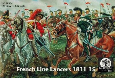 Waterloo 1815 - 054 - French Line Lencers 1811 - 1815 - 1:72