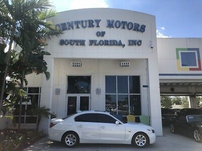 2004 BMW 5-Series  Low Miles Clean CarFax Warranty Included Florida Car