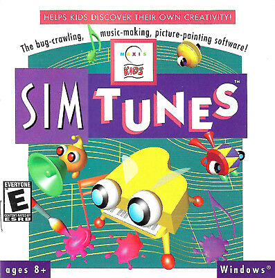 KIDS Sim Tunes CD-ROM software   NEW SEALED