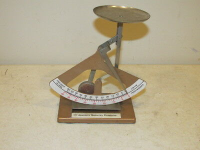 Vintage Gold Weight Measuring Scale in Grams & Pennyweights VFC
