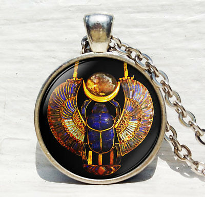 Egyptian Scarab pendant, Ancient Egypt jewelry, Egypt necklace, Egyptian jewelry