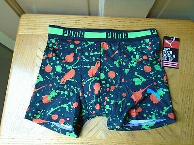 Puma Boys Boxer Briefs Size Large    NEW  WITH TAGS