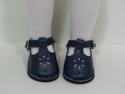 NAVY BLUE Gym Tennis Doll Shoes For 14 American Girl Wellie Wisher Wishers Debs