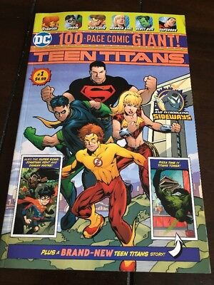 Walmart Exclusive TEEN TITANS 100 Page GIANT 2018 First Appearance DC Comics
