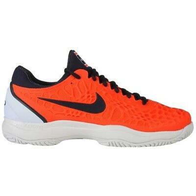 Nike Zoom Cage 3 Crimson/White Men's Tennis Shoes (Rafa Nadal)
