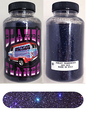 Blakes Metal Flake .015 Violett Tendenzen Prismatische Lila Hot Rod Custom 5oz