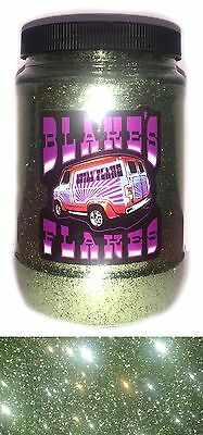 1lb Blakes Metal Flake .015 Seegrün Pastell Blass Hot Rod Custom Automotive
