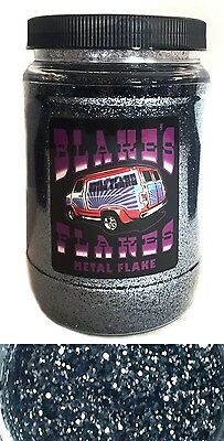 1lb Blakes Metal Flake .015 Blue Rotguss Silbergrau Hot Rod Custom Automotive