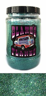 1lb Blakes Metal Flake .015 Ozeangrün Alpha Hot Rod Custom Automotive