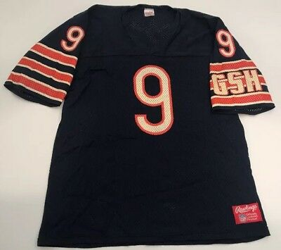 Vintage Rawlings NFL Chicago Bears Jim McMahon Football Jersey Size Adult Large