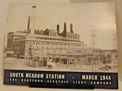 March 1944, South Meadow Station, Hartford Electric Light Co., Conn., 40 Pgs.
