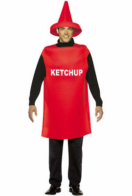 2010 Rasta Imposta Adult Ketchup Bottle Costume New One Size Fits Most