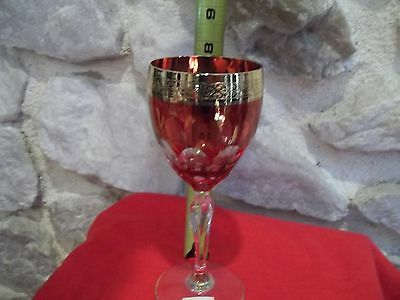 Horchow Crystal Wine Glass