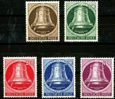 Germany Berlin Bell Clapper On Left MNH Scott's 9N70 - 9N74