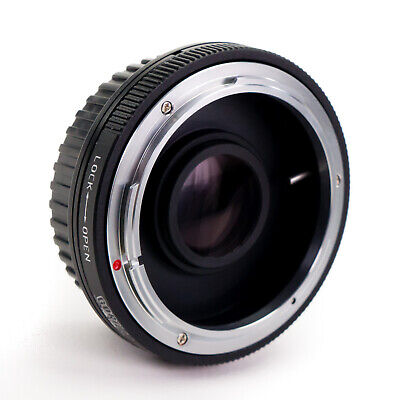 GFG Lens Mount Adapter - Canon FD Lens to Canon EOS EF EF-S Mount Camera