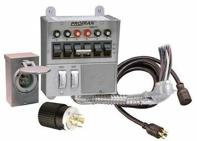 Reliance Control 31406CRK 30 Amp 6-circuit Pro/Transfer Generator Switch Kit