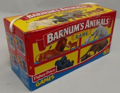 Vintage 2001 BARNUM'S ANIMALS CIRCUS Animal Crackers Game 100% Complete
