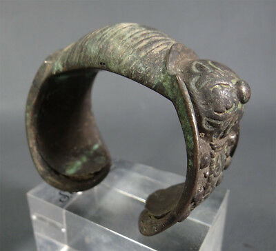 Antique Ethnic Greek Byzantine Bronze Thrak/Maced.Lady Bangle Fertility Bracelet