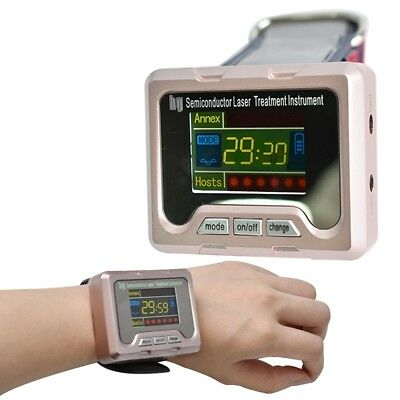 Low Level laser Light Therapy Watch Device LLLT Wrist Therapeutic Apparatus