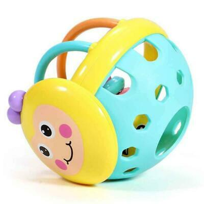 Plastic Baby Bendy Sound Ball Rattle Kids/Toddler/Infant Activity Toy JA