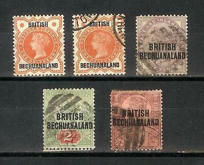 British   Bechuanaland   Victoria   Selection