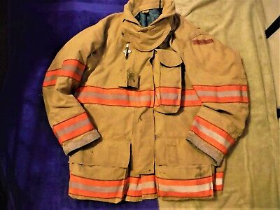 2007 GLOBE G-XTREME Turnout jacket 42 x 32 DRD FIREFIGHTER BUNKER GEAR COAT